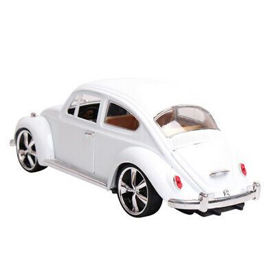 Toy Vintage VW Beetle Superior 1/18 Model Car Alloy Diecast  Collection Gift • 28.78£
