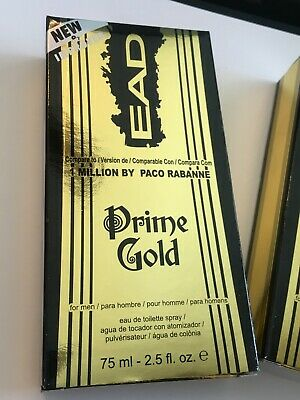 $ CDN33.24 • Buy EAD Prime Gold MEN Cologne OUR VERSION 1 Million Paco Rabanne LOT OF 2 FULL SIZE
