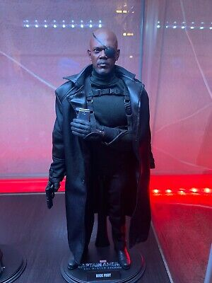 $229.99 • Buy Hot Toys Nick Fury Captain America Winter Soldier MMS315 1/6 Sixth Scale Marvel