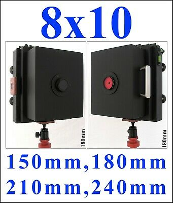 £83.82 • Buy 8x10 Large Format Pinhole Camera. 150mm, 180mm,  210mm Or 240mm Focal Length.