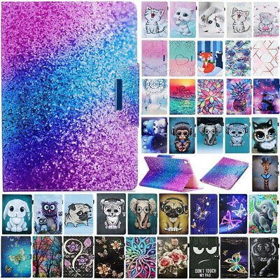 AU23.89 • Buy For IPad 8th 7th Gen 5th 6th Generation Painted Magnetic Smart Case Stand Cover