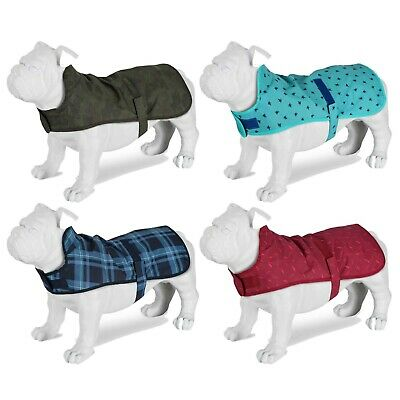 Pet Dog Coats Lightweight Waterproof Puppy Clothes Rain Outdoor Camping Jacket M • 10.43£