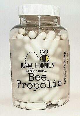 Bee Propolis 1000mg High Strength 120 Capsules, Immune System, Alllergies  • 11.99£