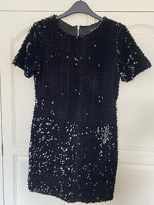 £13 • Buy Topshop Beyonce Sequin Dress Size 10 Worn Once Evening Occassion