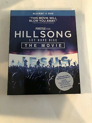 $8 • Buy Hillsong Let Hope Rise The Movie Blu-ray + Dvd Brand New With Slipcover
