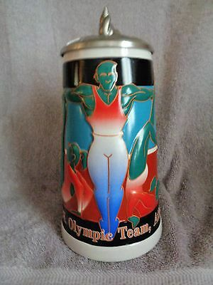 $ CDN27.83 • Buy Budweiser 1996 Lidded Us  Gymnastics  Olympic Stein
