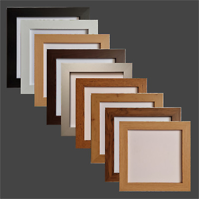 £2.95 • Buy Unique Poster & Photo Frames, Square Modern Wooden Effect, Picture Frames