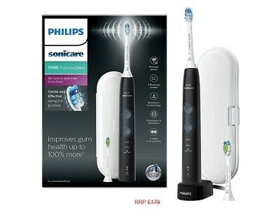AU208.58 • Buy Philips Sonicare ProtectiveClean 5100 Sonic Electric Toothbrush HX6850/10~ BLACK