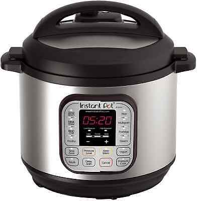 $89.99 • Buy Instant Pot IP-DUO80 7-in-1 Programmable Electric Pressure Cooker, 8 Qt Slowcook