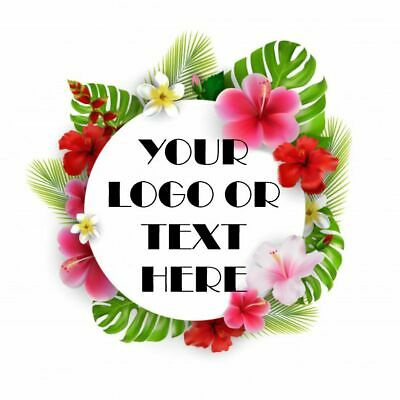 Printed Round Stickers - Custom Logo Labels - Postage Labels -Personalised Logo • 2.89£
