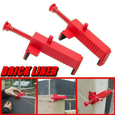 Brick Clamps Runner Drawer Bricklaying Wall Building Construction Fix Tools • 9.31£