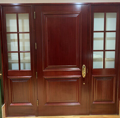 $2766 • Buy External Entry Mahogany Door With Side Lights