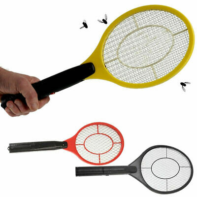 Electric Fly Insect Racket Zapper Killer Swatter Bug Mosquito Wasp Electronic • 5.85£