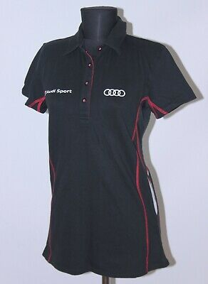 £14.99 • Buy AUDI Sport Quattro Womens Racing Official Polo Shirt Size L