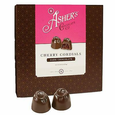 $14.99 • Buy Asher's Chocolate, Chocolate Covered Cherry Cordials 6.1oz