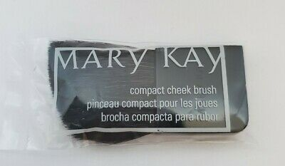 $4.50 • Buy Mary Kay Black Compact Cheek Brush New Sealed Package