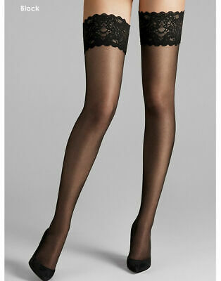 Wolford Satin Touch 20 Stay Up • 29£