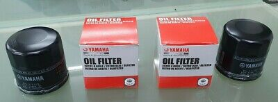 AU44.99 • Buy Yamaha Filter, Oil, Twin Pack 5GH-13440 Suits 4 Stroke Marine Outboards 15-130hp