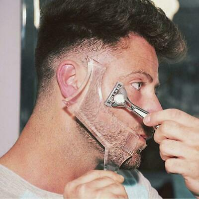 Beard Styling Shaping Template Comb Barber Tool Symmetry Trimming Shaper Stencil • 2.99£