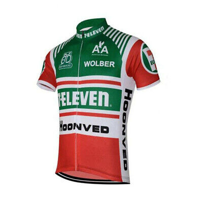 AU30.39 • Buy 1986 7 Eleven Davis Phinney Cycling Jersey Mens Cycling Short Sleeve Jersey
