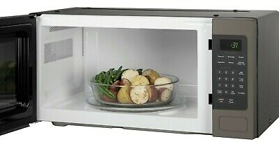 $449 • Buy GE PEM31EFES SPACE MAKER MICROWAVE OVEN 1.1cu Ft - SLATE - 12 1/8H 24W 12 7/8D