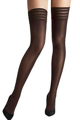 Wolford Velvet De Luxe 50 Stay Up • 35£
