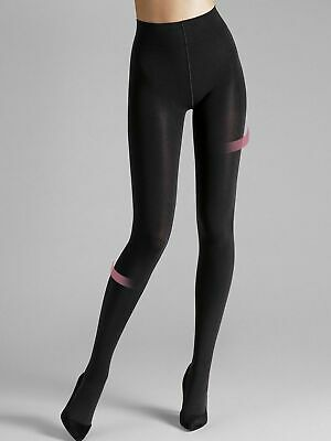 Wolford Individual 100 Leg Support Tights, 100 Den Support Tights Black • 47£