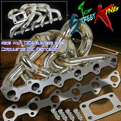 $145.99 • Buy T304 T3 Turbo/turbocharger Exhaust Manifold For 86-91 Bmw E30 I6 M20 2.5l/2.7l