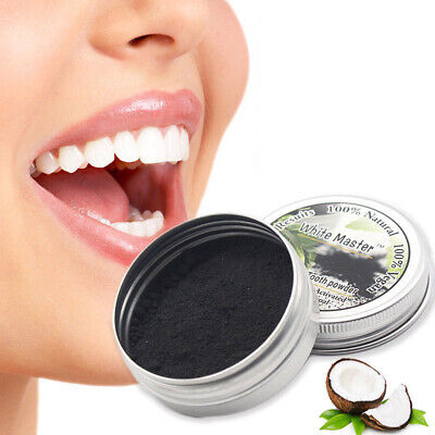 AU5.21 • Buy 1pc Teeth Whitening Powder Charcoal Activated Organic Pure Tooth Paste Natural L