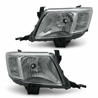 AU215 • Buy Headlights PAIR Fits Toyota Hilux N70 2WD 4WD 06/2011 - 03/2015