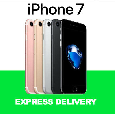 AU289 • Buy LIKE NEW APPLE IPhone 7 32GB 128GB 256GB 4G 100% Unlocked Smartphone