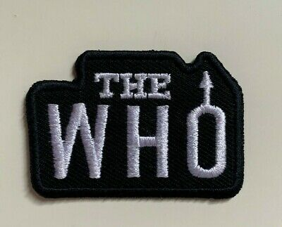 £1.99 • Buy  The Who MOD Rock Band Music-Iron On/ Sew On Embroidered Patch Badge