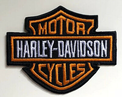 Harley Davidson Patch Embroidered Motorcycle Biker Patches Badge Iron/Sew On • 5.99£