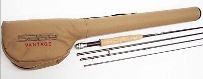 $400 • Buy SAGE VANTAGE 690-4 9'0  #6 4Piece Fly Rod Fishing With Case F/S
