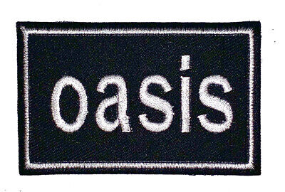 £1.95 • Buy Oasis Rock High Quality Embroidered Sew On Iron On Patch Badge Music Uk