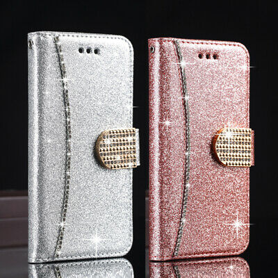 $ CDN13.04 • Buy Bling Glitter Case Magnetic Flip Wallet Cover For Samsung Galaxy S20 S10 A51 A71