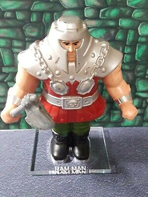 $5 • Buy MOTU Ram-Man Masters Of The Universe Loose Figure Stand/Base. No Figure. Ram Man