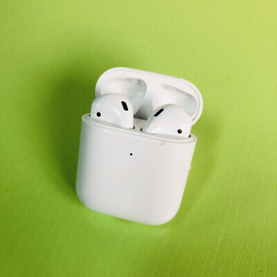 AU99.99 • Buy Apple AirPods 2nd Generation In-Ear Headphone With Wireless Charging Case White