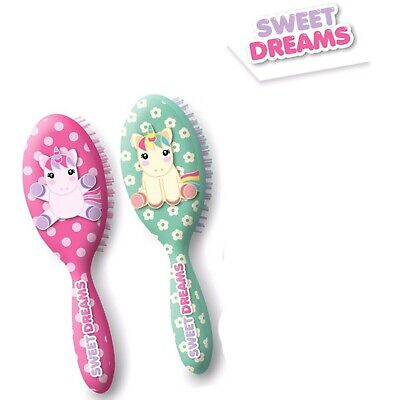 $ CDN16.39 • Buy Kids Licensed Sweet Dreams Hair Brush Girls Hair Styling Accessories Xmas Gift
