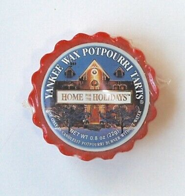 Yankee Candle Wax Potpourri Tarts Home For The Holidays NIP • 5.15£