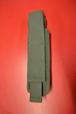 $9.99 • Buy Ranger Green Single Curved MP5 Mag Pocket 6/9 Black Magazine Pouch