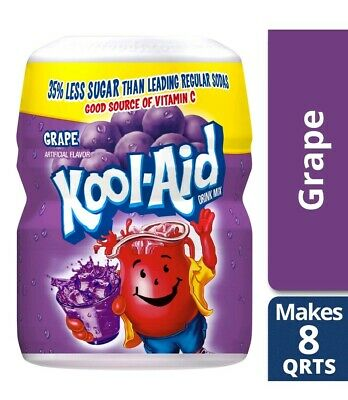 Kool Aid Sweetened Grape Powdered Drink Mix, 19 Oz • 4.59£