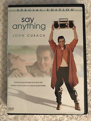 AU8.07 • Buy Say Anything DVD / Special Edition; Pre/owned, Good Condition