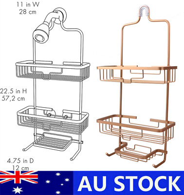 AU42.99 • Buy Home NeverRust Hanging Aluminum Shower Caddy,Bathroom Shelf Storage Organiser AU