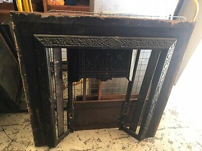 Victorian Style Cast Iron Fireplace Space For Tiles • 49£