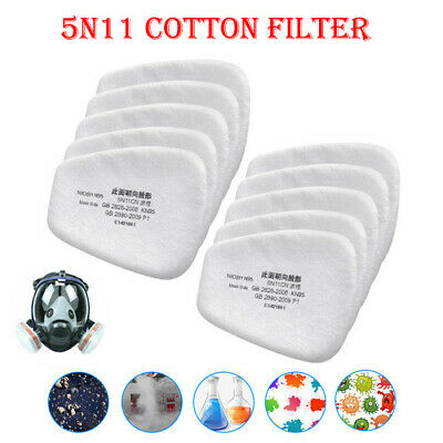 $ CDN7.12 • Buy 5N11 Cotton Filter Replacement For 6200 6800 7502 Respirator