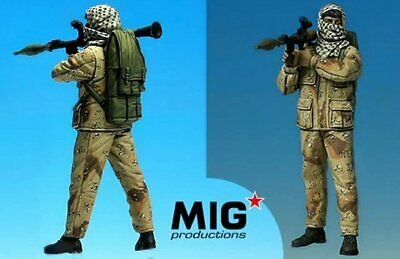 Mig Productions 35-316 Palestinian With RPG 1/35 Scale Resin Figure • 17.95£