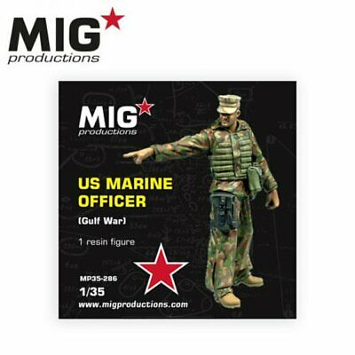 Mig Productions 35-286 US Marine Officer Gulf War 1/35 Scale Resin Figure • 16.95£