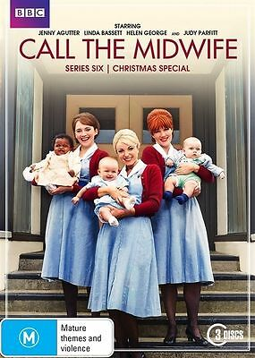Call The Midwife : Series 6 (DVD, 2017, 3-Disc Set) • 10.59£