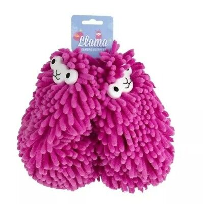BRAND NEW Llama Cleaning Slippers Duster Footwear Clean Floor One Size • 12.99£